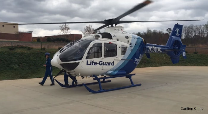 Carilion Clinic Life-Guard in Virginia has expanded from one helicopter to three with hangars in Roanoke, Westlake, Lexington and in the New River Valley