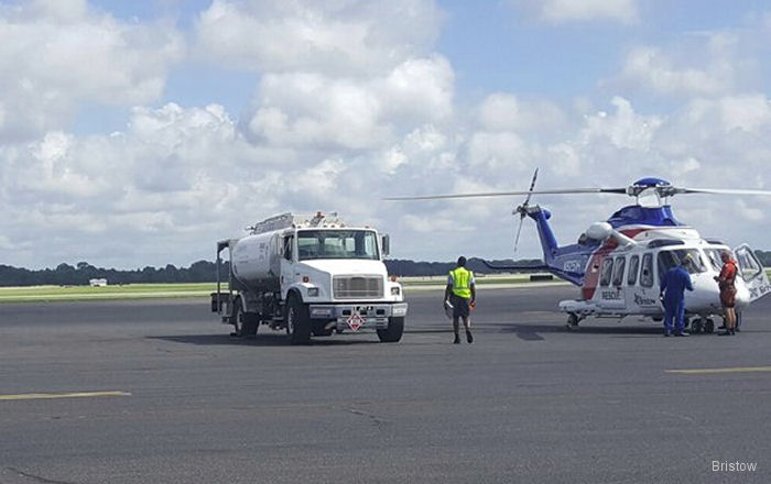 Bristow AW139 supported helicopter rescue efforts around Livingston and East Baton Rouge due Louisiana's historic flooding
