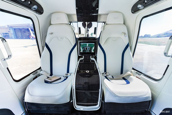 Mecaer Aviation Group (MAG) validated their luxury VIP interior, The MAGnificent, with the Federal Aviation Administration (FAA) to be installed in factory new or post production-line aircraft