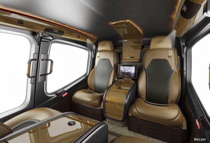 Mecaer Aviation Group (MAG) announced it has signed with a United States based customer to take delivery of the first Bell 429 MAGnificent interior in the country