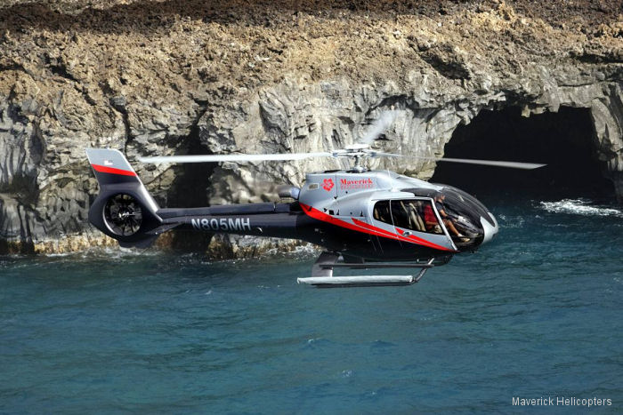Maverick Helicopters expanded its fleet for heli tours at its Maui, Hawaii location with a fourth EC130T2
