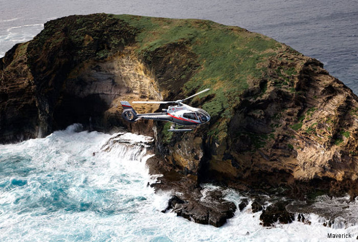 Maverick Helicopters celebrates first anniversary in Maui, Hawaii,  launching two new flights