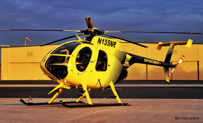 MD Helicopters delivered a new MD500E to the Minnesota Department of Natural Resources (DNR), Division of Enforcement.