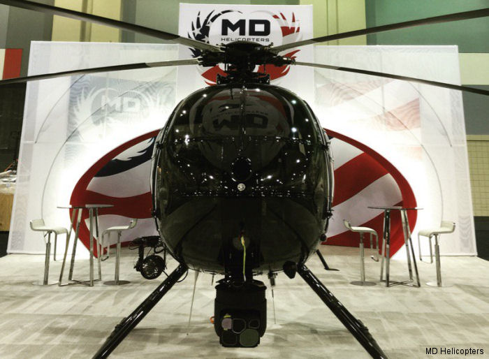 Georgia s Gwinnett County MD500E to MD530F converted helicopter showcased in the 2016 Airborne Law Enforcement Association (ALEA) Expo, July 20-22 in Savannah