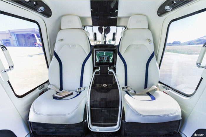 Mecaer Aviation Group (MAG) announced it has successfully validated their luxury interior for the Bell 429 with Russian authorities (IAC-AR).