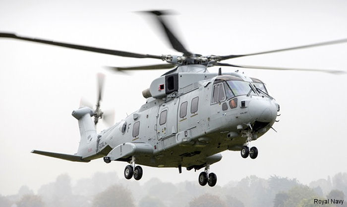 Royal Marines new helicopter completes its maiden flight