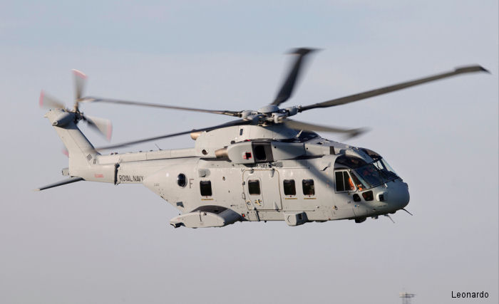 Leonardo  is upgrading 25 ex RAF Merlin Mk3/3A to the 'Junglie' Mk4/4A standard as part of the Merlin Life Sustainment Programme (MLSP) contract to be delivered between 2017 and 2020