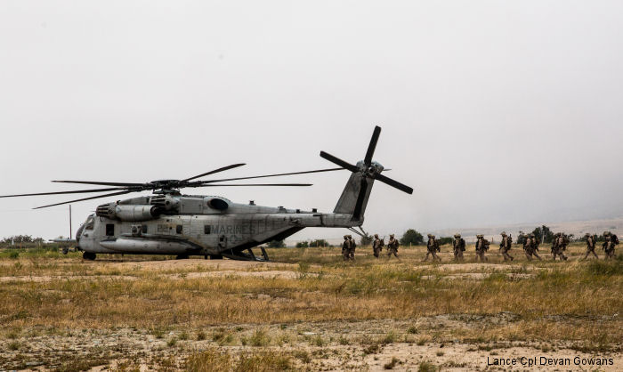 U.S. Marines and Sailors of the 11th Marine Expeditionary Unit (MEU) took part on a field training exercise to enable them perform a wide array of specialties as a Marine Air-Ground Task Force