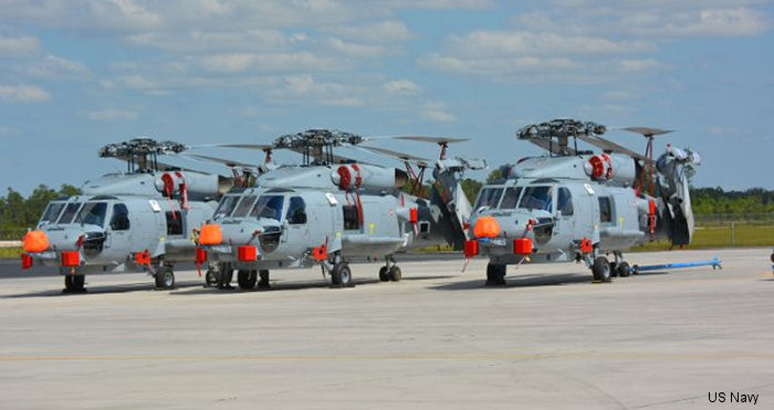 Royal Danish air force (Flyvevåbnet) received first 3 of 9 MH-60R Seahawk helicopters. Will be used by the 723 Squadron in replacement of their old Westland Lynx.