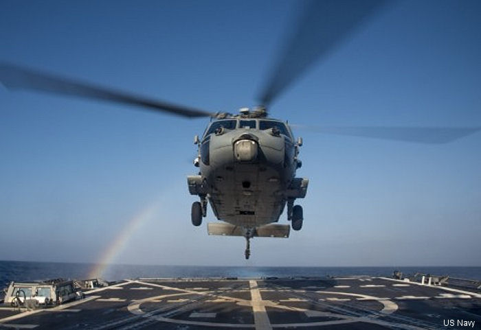 Lockheed Martin at Owego New York awarded contract for integration of software product improvement of the US Navy and Royal Australian Navy MH-60R Seahawk helicopter