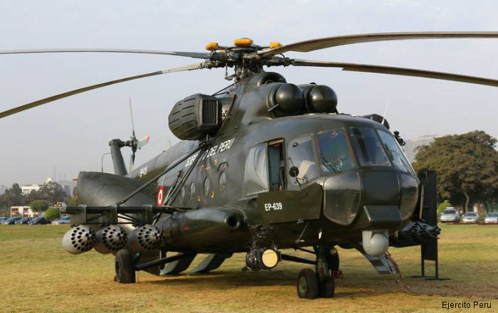 Russian Helicopters will build and equip a training center in Peru for Mi-171Sh crews by end 2017
