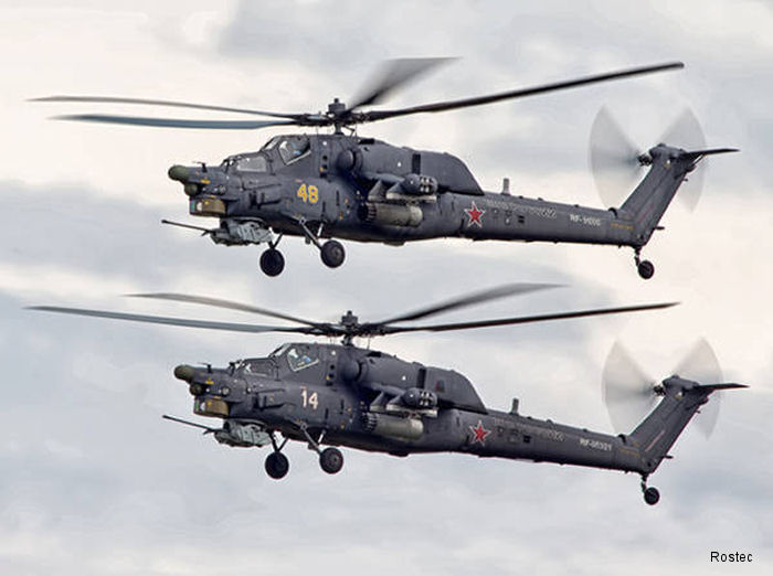 Rostvertol has started mass production of Mi-28NE combat helicopter with dual controls allowing operation of the aircraft by both a pilot and an instructor.