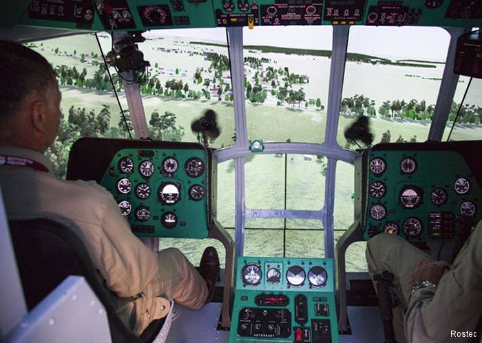 Russian Helicopters to feature a Mi-8MTV1 Training Simulator at KADEX-2016