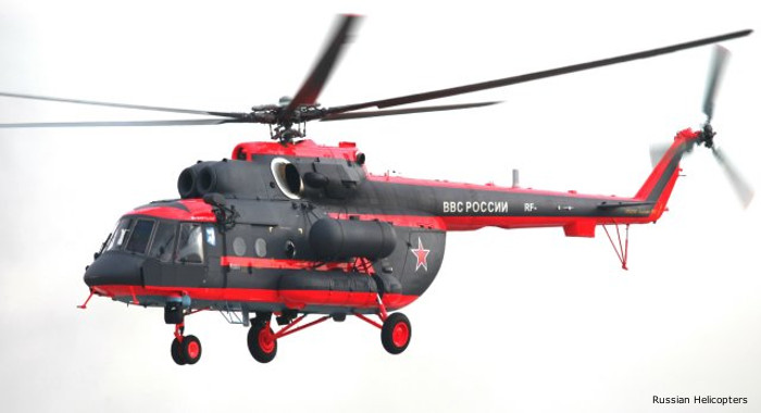 "Russian Helicopters to demonstrate new ""Arctic"" version of Mi-8AMTSh at Army-2016 Expo"