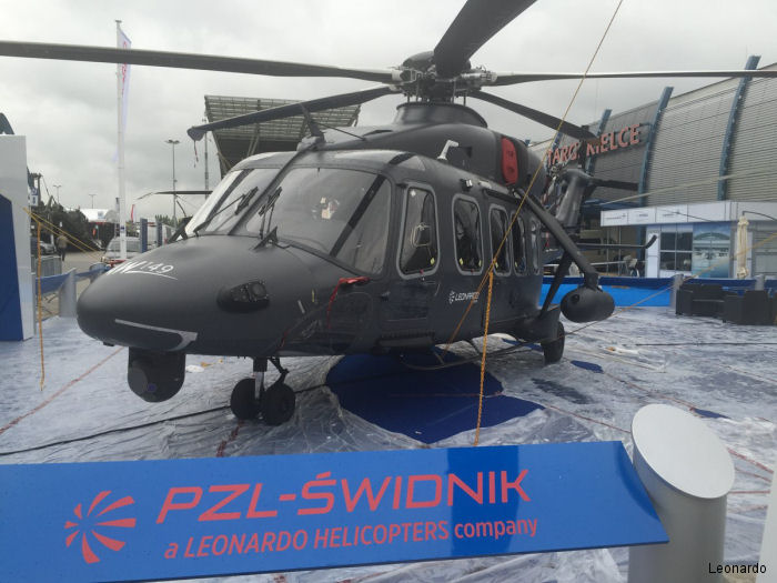 PZL-Świdnik, a Leonardo Company, to show the W-3PL Głuszec and AW149 helicopters at the 24th edition of MSPO (Poland International Defence Industry Exhibition) to take place in Kielce, September 6-9