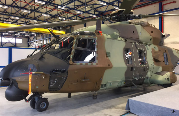NH Industries delivered the 300th NH90 production helicopter to the Spanish Armed Forces on December 15 at the Albacete plant.