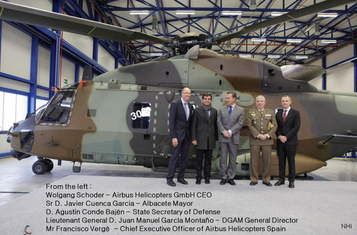 300th NH90 Delivered
