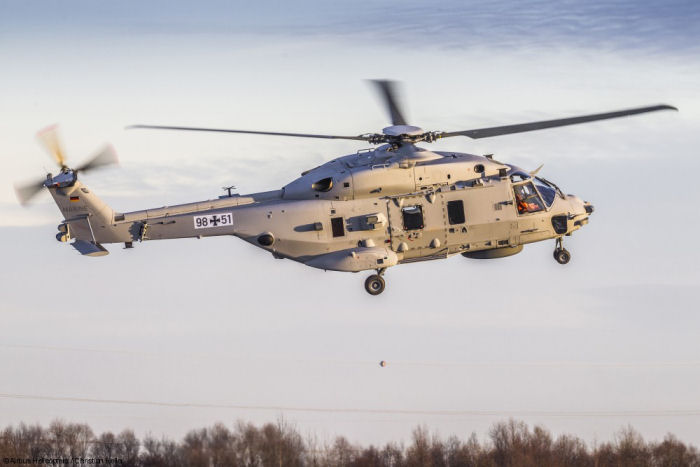 Marineflieger next naval multi-role helicopter, NH90 Sea Lion, took off on its on-schedule maiden flight at Airbus plant in Donauwörth. 18 will be delivered between 2019-2022 to replace the Sea King