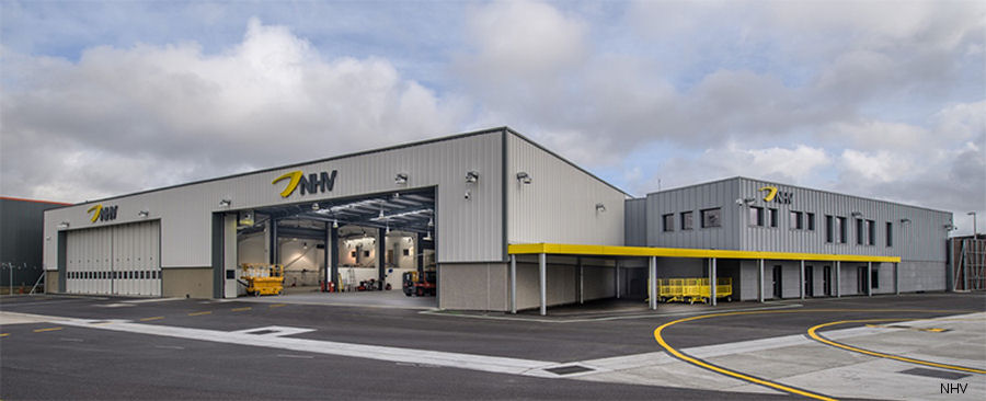 NHV opened a new hangar, apron and passenger handling facilities at their operational base at Aberdeen International Airport, Scotland