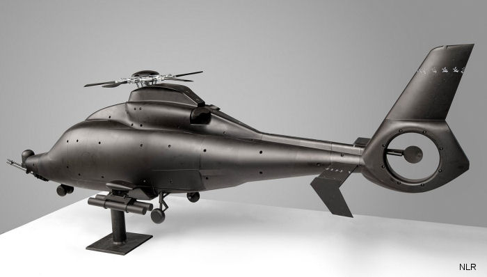 Dutch aerospace laboratory NLR performed the wind-tunnel tests for the South Korean KAI LCH-LAH future helicopter which is based on the Airbus EC155