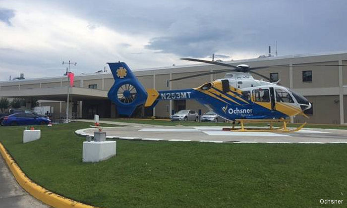 The Singing River and Ochsner Health Systems will station a EMS helicopter operated by Med Trans at the Ocean Springs Hospital in the Mississipi Gulf Coast area