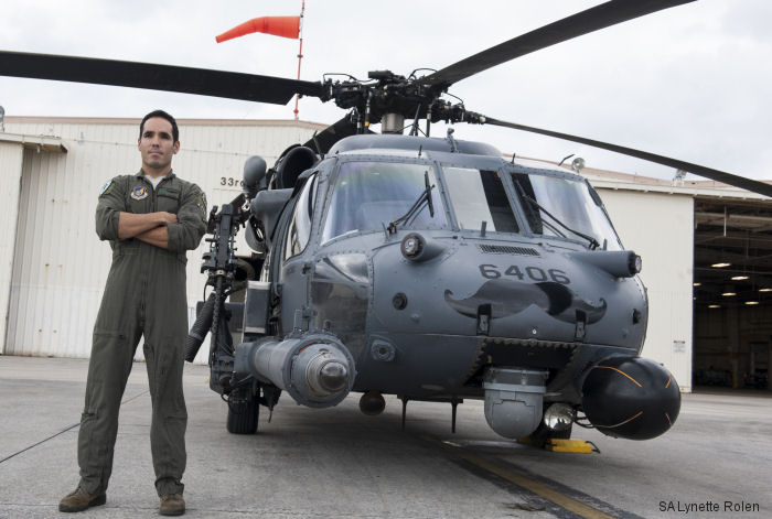 USAF's 33 RQS flies the HH-60G Pave Hawk. Pararescuemen or PJs forms the 31 RQS