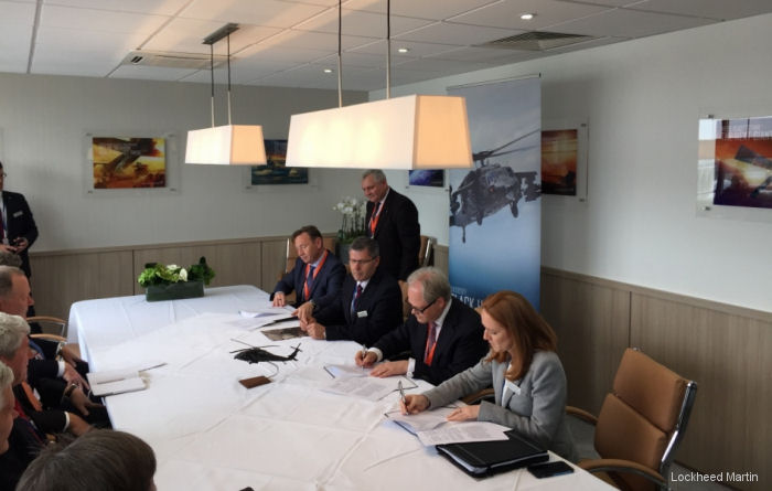 Sikorsky, PZL Mielec and PGZ Ink New Agreement For Black Hawk Co-Operation at Farnborough International Airshow