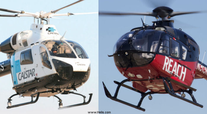 REACH Air Medical Services and California Shock Trauma Air Rescue  (CALSTAR) announce air medical services merger. They will continue to operate under own brands