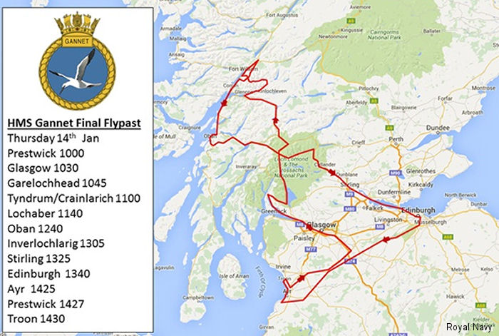 Navy s flying heroes say so-long Scotland with fly-past