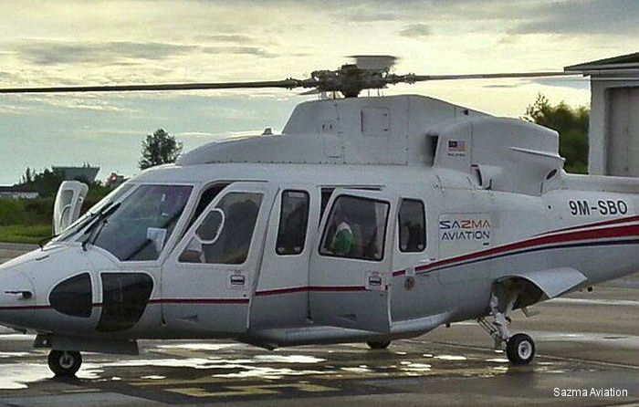 Malaysian-based offshore oil & gas helicopter operator Sazma Aviation  selected SKYTRAC s Helicopter Flight Data Monitoring (HFDM) services for its Sikorsky S-76C aircraft
