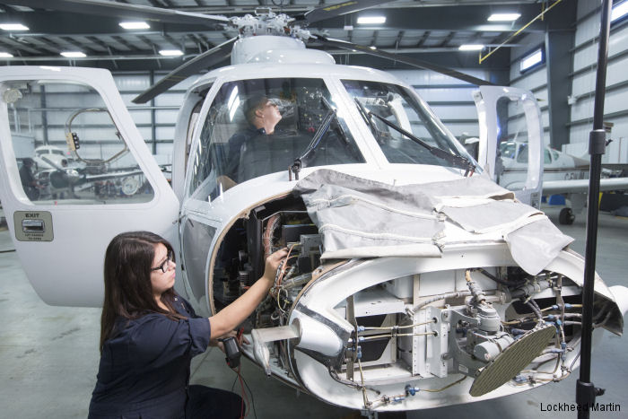 Sikorsky donated a non-flying S-76A to the Aviation Learning Centre of the Canadian Saskatchewan Indian Institute of Technologies (SIIT) as a maintenance trainer