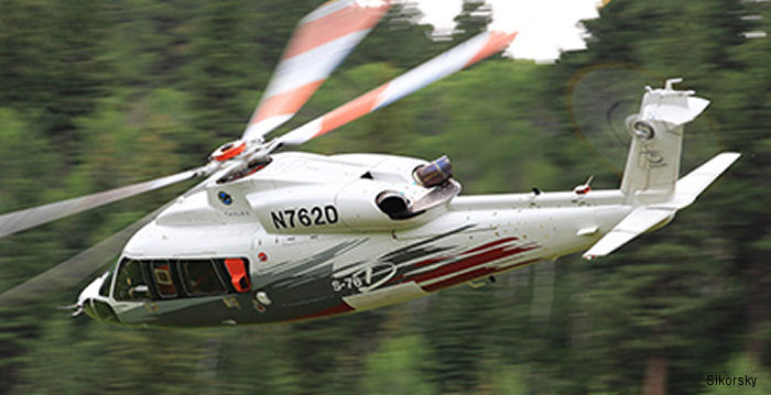 Summit Aviation named authorized customer support service center for the Sikorsky S-76D helicopter