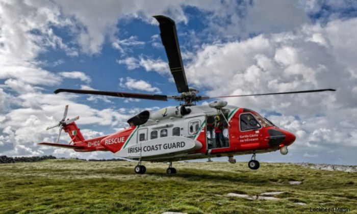 Irish Coast Guard in partnership with CHC completed more than 1,000 SAR missions in 2015 with a fleet of five Sikorsky S-92 helicopters.