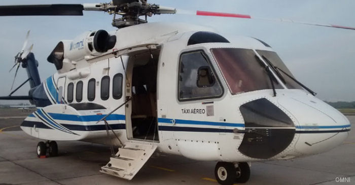 Milestone Aviation Group leased a Sikorsky S-92 to Omni Táxi Aéreo  to support Petrobras offshore oil and gas operations in Brazil