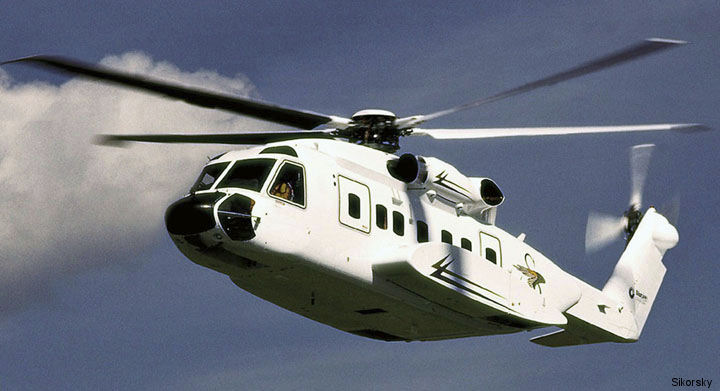 Waypoint Leasing placed 2 new Sikorsky S-92 on lease with a global helicopter operator