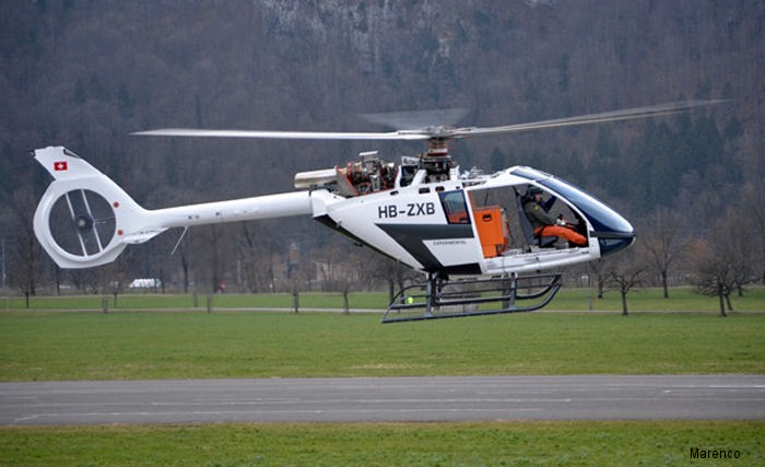 SKYe SH09 helicopter second prototype performed first flight February 26 at the Mollis airport facilities of Marenco Swisshelicopter in Switzerland