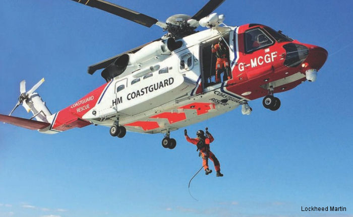 Sikorsky recognized Bristow and the UK Maritime and Coastguard Agency  for excellence in lifesaving achievement with the S-92 helicopter