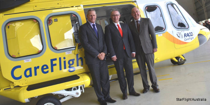 Queensland's CareFlight in partnership with Kaan Air have launched StarFlight Australia to provide EMS, SAR and firefighting helicopter services throughout Australasia.