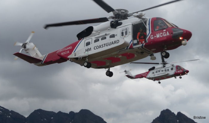 Bristow Reaches Third Anniversary of Search and Rescue in Northern Scotland