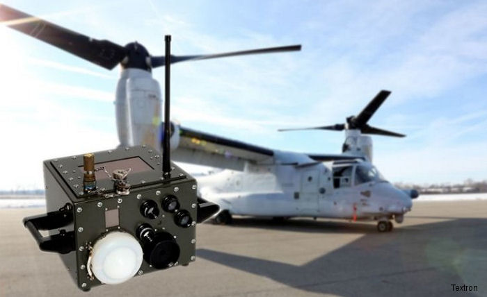 Textron launch the Integrated Tester for Aircraft Survivability Systems (ITASS)