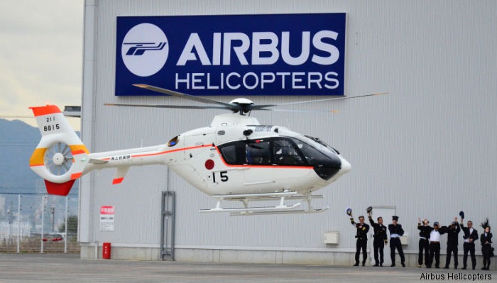 Airbus Helicopters Japan signed contract with Japan Maritime Self-Defence Force (JMSDF) for Performance-based Logistics (PBL) service  HCare