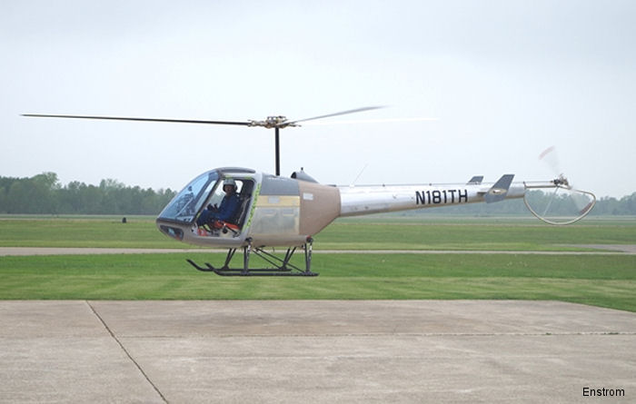 Enstrom continues flight tests on the second TH180 Flight Test Vehicle. The program is back on track after the delay caused by the accident with FTV 1
