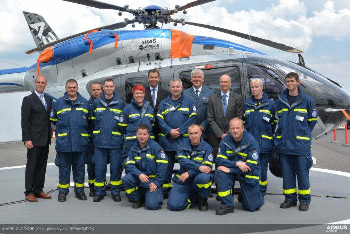 Airbus Helicopters Foundation partners with German Federal Agency THW for support in natural disaster situations