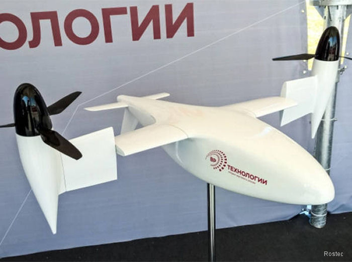 Tiltrotor by Russian Helicopters makes its first flight