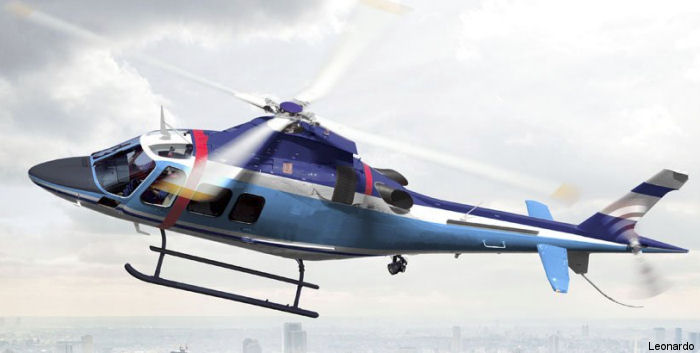 Tokyo Metropolitan Police orders two AW109 Trekkers to be delivered in 2017.  First Asian law enforcement operator of the type.