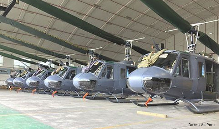 After nearly 50 years of active service in the Royal New Zealand Air Force (RNZAF) the UH-1H were offered for sale through an international tender process in 2015