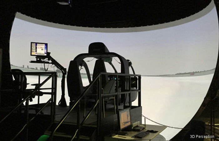 3D perception to deliver to US Army Fort Rucker two additional Northstar immersive visual displays for CAE-built UH-72A Lakota Flight Training Devices (FTDs).