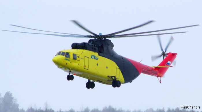 HeliOffshore, the offshore helicopter industry's safety-focused organisation, confirmed its 100th member: major Russian operator UTair-Helicopter Services