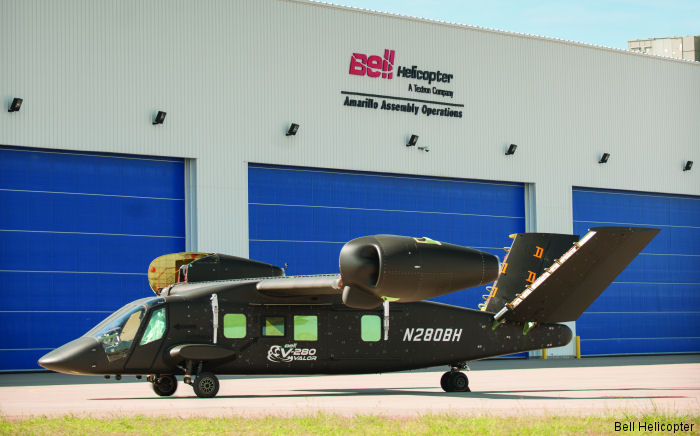 IAI's LAHAV Division supplies the nacelles and IAI's Golan Division supplies seating systems for the Bell V-280 Valor tilt-rotor
