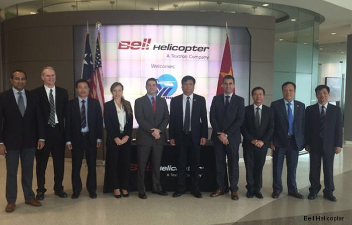 Bell Helicopter announced it has signed a Memorandum of Understanding (MoU) with Vietnam Helicopter Corporation (VNH) to pursue growing opportunities in the Vietnamese market.
